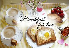 valentines day breakfast for two. breakfast in bed. romantic valentines. cute set up. easy valentines. lovely.