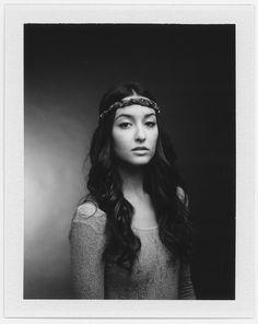 portrait, polaroid, 600se, bw, film, instant, fp-3000b, fujifilm, beautiful, hair, model, sexy, women, retro, lovely