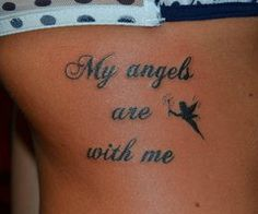 """My angels are with me"""