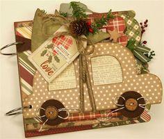 Handmade Holidays mini album (Medium)