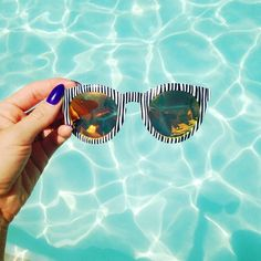 Sara from Love By Lynn with the CRAP Eyewear TV Eye Shades || Get the sunglasses: http://www.nastygal.com/product/crap-eyewear-tv-eye-shades?utm_source=pinterest&utm_medium=smm&utm_term=ngdib&utm_content=clothing_optional&utm_campaign=pinterest_nastygal