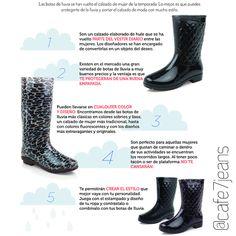 Encontramos este fabuloso tips para aquellas chicas que le encantan los cinturones. Averigua cual es el mejor para ti.  #Chic #Style #Moda Rubber Rain Boots, Wedges, Shoes, Fashion, Rain Boots, Over Knee Socks, Winter, Beauty, Style