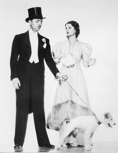 Myrna Loy & William Powell aka Nick & Nora Charles in 'The Thin Man' (1934)