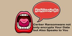 one of the latest malware threats has arrived which very much dangerous ransomware and is known as Cerber.