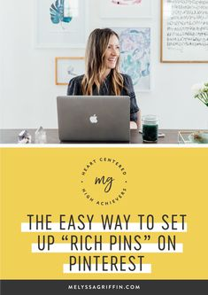 Want to learn how to grow your blog traffic with Pinterest? To help, I'd like to give you an easy pinterest marketing idea for you creative business. This post is all about how to get rich pins so you can use pinterest for business the right way! #pinterestmarketing #pinterestmarketingtips #socialmediatips #socialmediamarketing #melyssagriffin, #onlineentrepreneur, #creativebusiness Online Entrepreneur, Entrepreneur Quotes, Seo For Beginners, Social Media Engagement, Pinterest For Business, Instagram Tips, Social Media Tips, Pinterest Marketing, Media Quotes