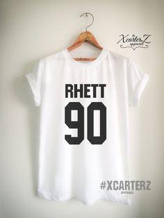 Rhett Shirt RHETT 90 T-Shirt Print on Front or Back by XcarterZ
