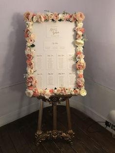 Frame for hire. Nude, blush, champagne and ivory - the perfect neutral flowerwall for all occasions.