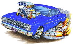 Cool Cartoon Cars | Some cool cartoon cars