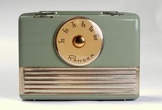Vintage Ranger 1950's Radio / via TRANSISTOR RADIOS on flickr