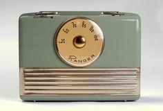 Vintage Ranger 1950's Radio