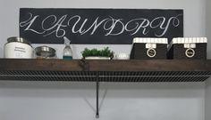 DIY Wood Overlay for Wire Shelving - Lemons, Lavender, & Laundry