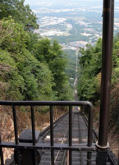 Incline Railway Chattanooga TN.. it is said that there is no photo that does it justice.- We might need to go there are see for ourselves.  :)