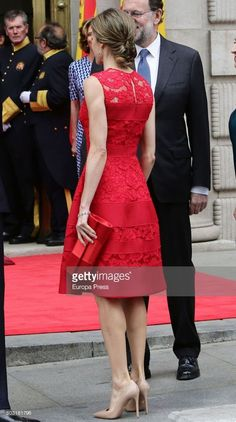 Queen Letizia of Spain attends the 40th legislative elections anniversary at Spanish parliament on June 28, 2017 in Madrid, Spain.