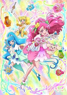 Toei Animation revealed four more cast members on Saturday for Healin' Good Precure, the and newest Precure (Pretty Cure) television anime series. Pretty Cure, Hinata, Fairy Names, The Cure, Anime Watch, The Secret World, Glitter Force, Fantasy, Anime Shows