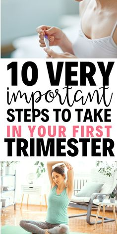 10 important things to do as soon as you find out you are pregnant! This will help! Prenatal Workout, Pregnancy Workout, First Pregnancy, Pregnancy Tips, Healthy Pregnancy Diet, Baby Gender Prediction, Morning Sickness Remedies, Best Prenatal Vitamins, Healthy Milk