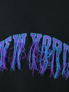 "Doublet jersey con costura expuesta ""New York"""