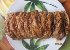 Egyben sült karaj recept gazdagon recept foto Meat Recipes, Cooking Recipes, Hungarian Recipes, Hungarian Food, Weekday Meals, Kfc, Food 52, Meatloaf, Food Hacks