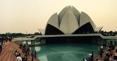 #LotusTemple #IncredibleIndia One of the seven in all over the world!! #lotus #temple #lotustemple #baha #baha'i #religion #beautiful #newdelhi #delhi #travel #nehruplace #architecture #building #manmade #humanity #love #peace by lucky.nitrr