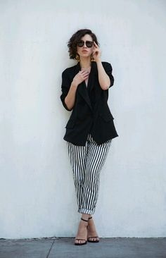 Pantalon a rayas