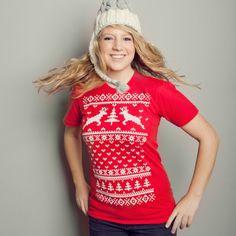 Ugly sweater t-shirts at vardagen.com!
