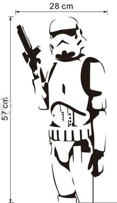 Badass Stormtrooper full Vector PDF file - Star Wars Stormtroopers - Ideas of Star Wars Stormtroopers - Star Wars Silhouette, Silhouette Art, Silhouette Projects, Star Wars Stencil, Stencil Art, Stenciling, Paar Illustration, Inkscape Tutorials, Star Wars Art
