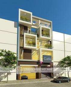 Thiết kế nhà có mặt tiền lớn - được thiết kế bởi các KTS của Green House VN Link: http://www.kientrucnha.net/thiet-ke-nha-voi-mat-tien-lon/