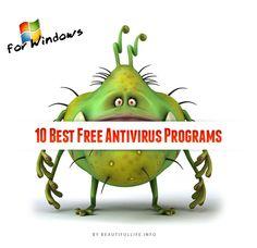 10 Best Free Antivirus Programs for Windows