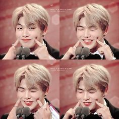 Daniel was asked to act cute at a music award 2017 ㅋㅋㅋㅋㅋ 🤣🤣