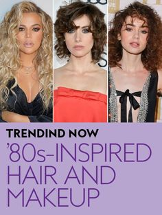 What goes around, always comes back around. #80s #beautytrends #hairtrends #perms