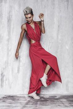 SUKIENKA RASPBERRY FEMINEN - sukienka, malinowa
