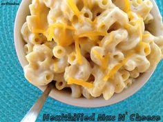 Healthy Mac & Cheese (with cauliflower sauce)