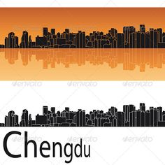 ◣ [Nulled]▼ Seattle Skyline In Orange Background Architecture Backgrounds Black Building City Cityscape Atlanta Skyline, Seattle Skyline, Frankfurt, Snowboard Design, Black Building, Tokyo City, Architecture Background, Skyline Silhouette, Evergreen State