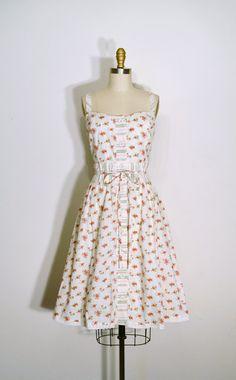 Vintage  Sun Dress  LizsVintageSoffitta,