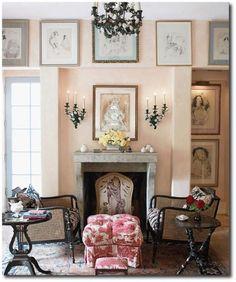 Penelope Bianchi's Santa Barbara, California home.