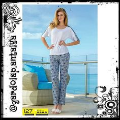 Fiyat: 49.90 TL #Takım #Bluz #Pantolon #Pamuk #Cotton Renk: #Beyaz Beden: Small Medium Large XLarge  #Sipariş için DM veya WhatsApp 05415831737 #PTTKargo ile Kapıda Ödeme.  #Gununfotografi #Pictureoftheday #Photooftheday #Shoutout #Outfitoftheday #Fashion #Moda #Aşk #Love #Kadın #Giyim #Black #Antalya #Turkiye