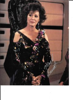Majel Barret authographed 8X10 photo from ST:TNG by LoneStarEstate on Etsy