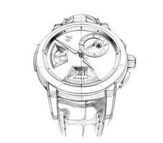 Christophe Claret Adagio Sketches by Clément Gaud, via Behance