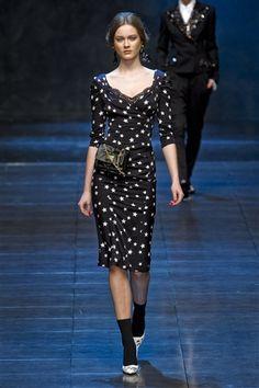 Monika Jagaciak Dolce & Gabbana Fall 2011
