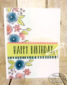 Perennial Birthday, stampin up, kit
