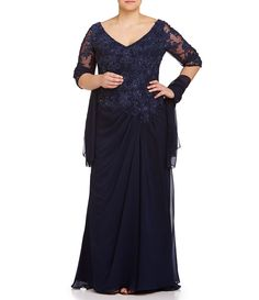 Shop for MGNY Madeline Gardner New York Plus Beaded Lace-Applique Chiffon Gown at Dillards.com. Visit Dillards.com to find clothing, accessories, shoes, cosmetics & more. The Style of Your Life.