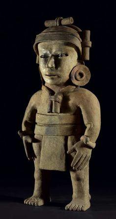 Anthropomorphic Figure. Culture Veracruz, Remojadas style, Mexico Classic, 450-650 AD