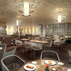 The Culinary Institute of America I A rendering of the New Bocuse Restaurant was designed by Adam Tihany, and will open in the Winter of 2013. The new restaurant, named after the famed French chef Paul Bocuse, will be serving up a new take on French cuisine.