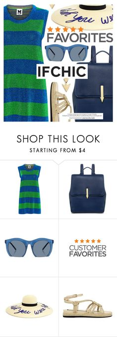 """""""Summer Fun featuring IfChic.com"""" by cultofsharon ❤ liked on Polyvore featuring M Missoni, Karen Walker, Grey Ant, N°21, Murphy and FOSSIL"""