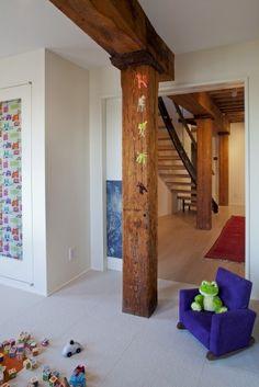 Authentic Cedar Log Basement Pole Covers Support Post Wrap Rustic Lodge Tree New Pinterest