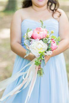 pink bridesmaid bouquet #bridesmaidbouquet