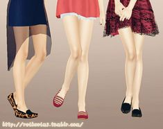 Tod's shoes for females by Reiko - Sims 3 Downloads CC Caboodle