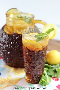 Served Up With Love: Southern Iced Tea