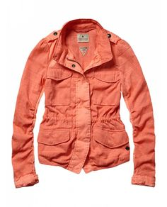 Fitted military jacket by Scotch & Soda - LOVE this jacket!