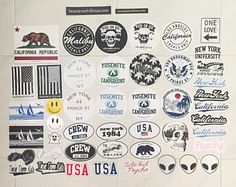 Brandy Melville Laptop Stickers