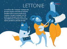Traditions noel - Lettonie